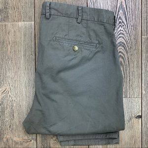 Peter Millar Pima Cotton Flat Front Twill Pants.